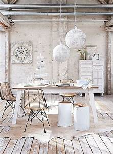 Shabby Chic Mode : 50 cool and creative shabby chic dining rooms ~ Markanthonyermac.com Haus und Dekorationen
