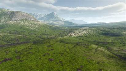 Unreal Engine Grass Heightmap Landscape Material Layers