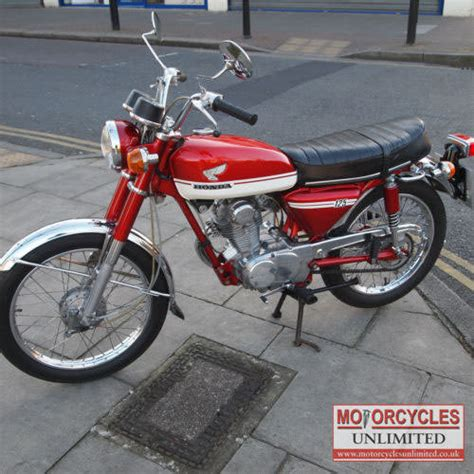 1973 honda cb125s classic bike for sale motorcycles unlimited
