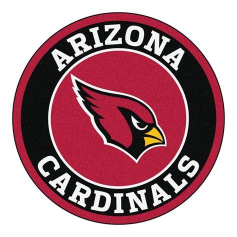 FANMATS NFL Arizona Cardinals Black 2 ft. Round Area Rug ...