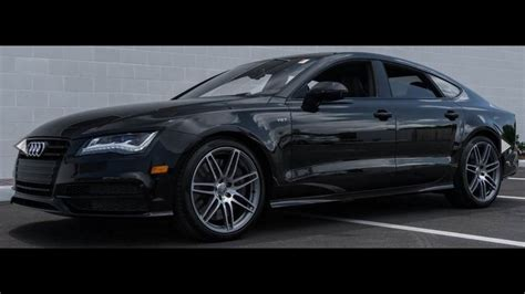 2014 audi s7 4 0t prestige quattro overview youtube