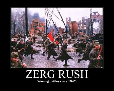 Zerg Rush Meme - image 257717 zerg rush know your meme