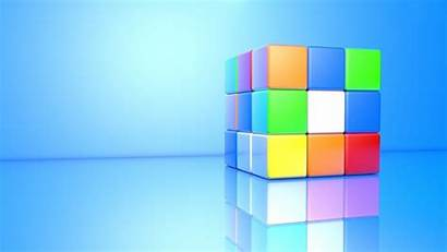 Cube 3d Colorful Wallpapers Rubiks Rubik Mystery