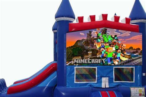 minecraft bounce house   destination