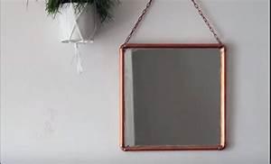Miroir Cuivre Rose : amazing fabriquer un miroir with fabriquer un miroir with miror cuivre castorama ~ Melissatoandfro.com Idées de Décoration
