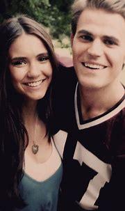 Stefan Salvatore and Elena Gilbert (The Vampire Diaries ...