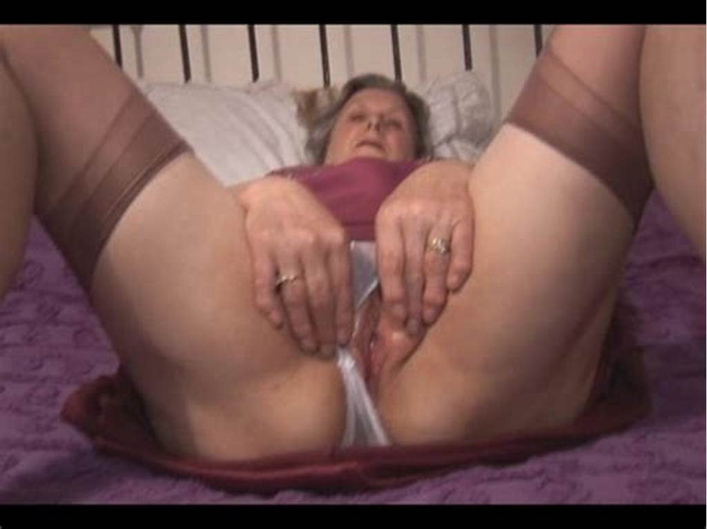 #Granny #In #Slip #And #See #Thru #Panties #Showing #Off #Hairy