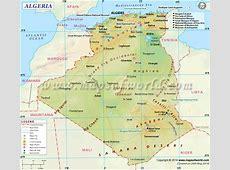 Algeria Map Map of Algeria
