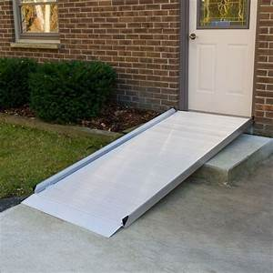 7' L - Silver Spring Aluminum Wheelchair Access Ramp ...