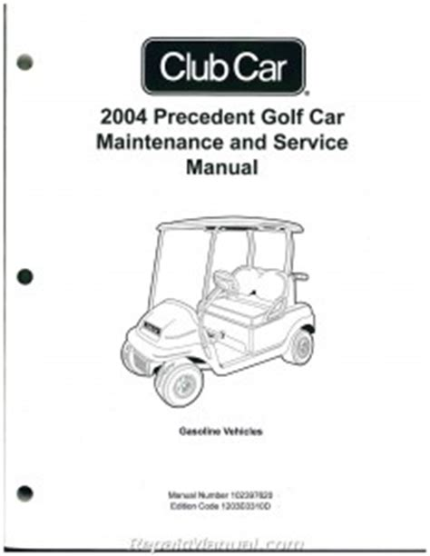 what is the best auto repair manual 2004 ford explorer parking system 2004 precedent club car golf cart service manual