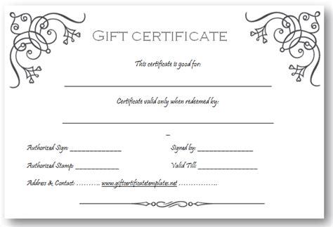 art business gift certificate template beautiful