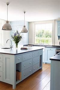 Colored kitchen cabinets inspiration the inspired room for Kitchen colors with white cabinets with metal decorative wall art
