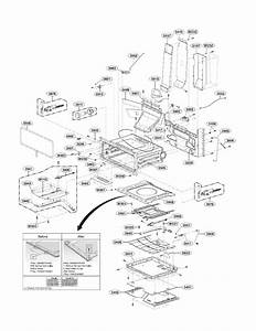Lg Model Ldg3015sw Free Standing  Gas Genuine Parts