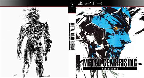 metal gear rising cover metal gear rising custom cover by shonasof on deviantart