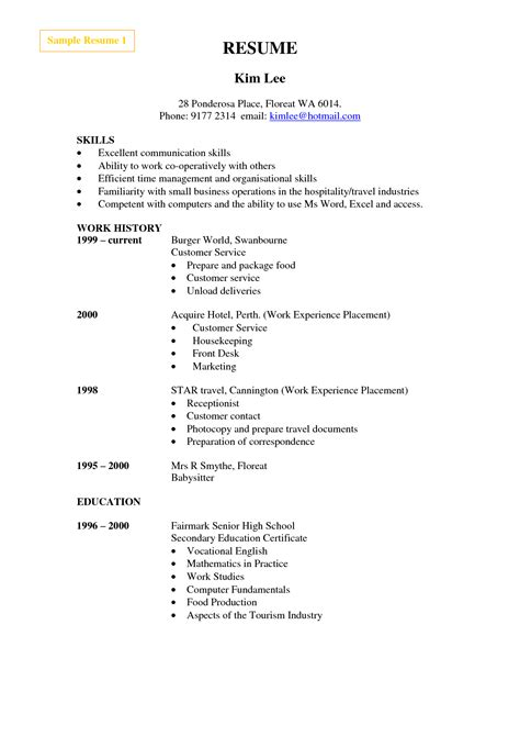 carpet cleaning resume resume ideas