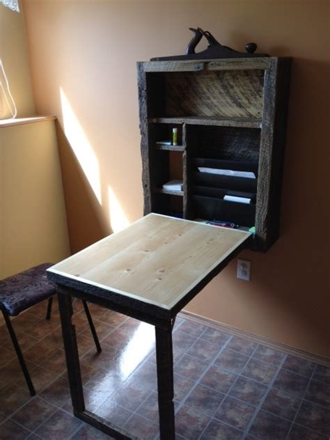 murphy desk open tiny house design home furniture