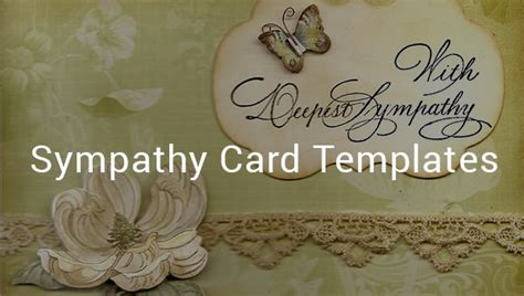 sympathy card templates ai google docs apple pages