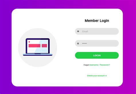 tutorial 2 create a responsive html login form