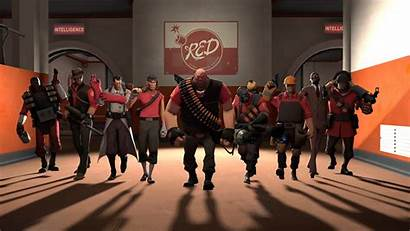 Fortress Team Tf2 4k Screenshot Games Characters
