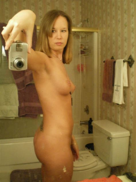 Amateur Coed Gets Naked And Takes Selfies For You Coed