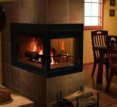 heatilator    sided wood burning fireplace