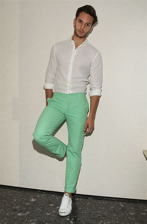 Sharp Mint Green Makes Summer More Than Refreshing! - Men ...
