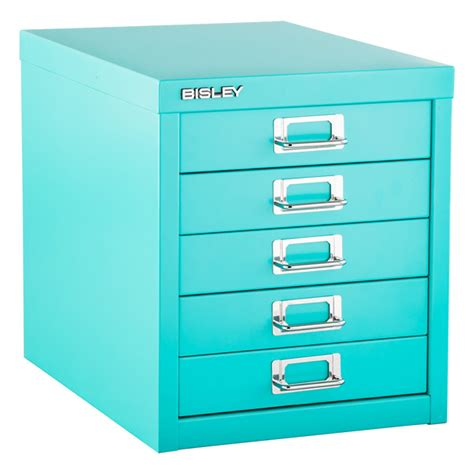 Bisley 5 Drawer Cabinet by Bisley Aqua 5 Drawer Cabinet The Container Store