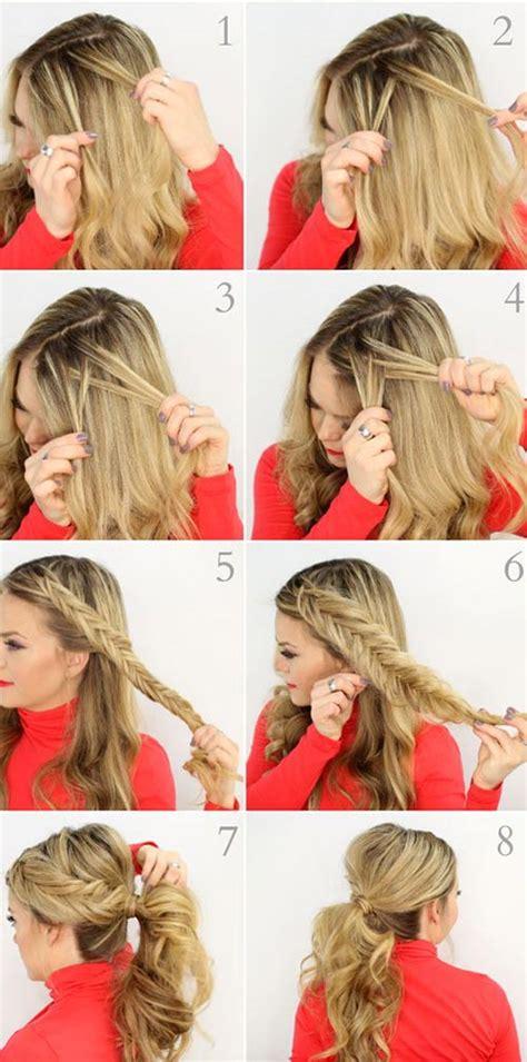 unique fishtail braid hairstyles  tutorials  ideas