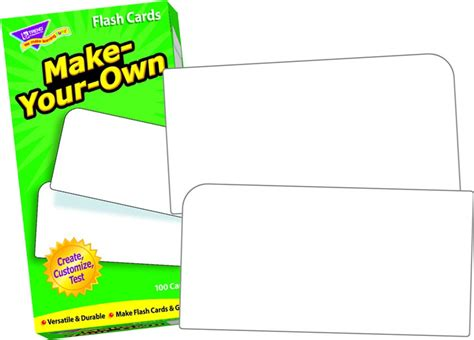 Makeyourown Flash Cards  Flash Cards Resources