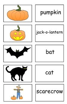 Freebie 15 Halloween Flash Cards (pdf) By Carmela Fiorino Vieira