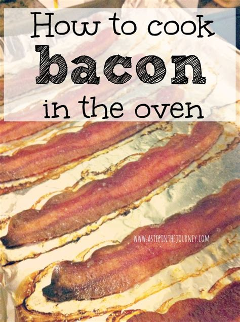 how to bake bacon how to cook bacon in the oven tip on tuesday