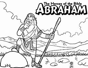 Free coloring pages of abraham of cartoon