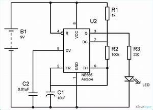 555 Timer Astable Circuit Calculator