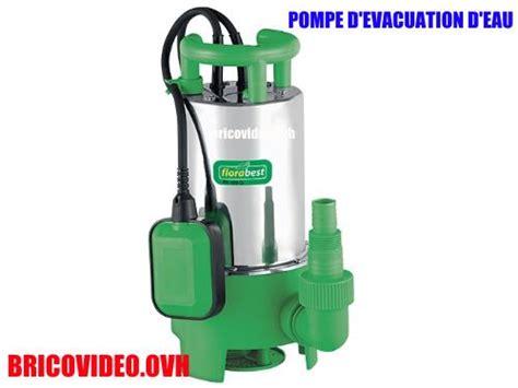 pompe d 233 vacuation d eau charg 233 e lidl florabest fts 1100