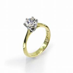 18ct gold classic 1ct diamond engagement ring by welsh With classic gold wedding rings