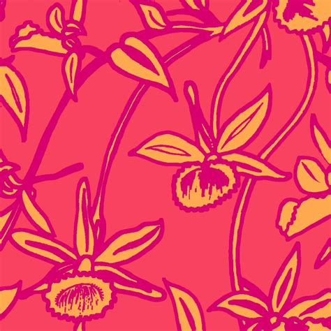 Print Design: Abstract Floral