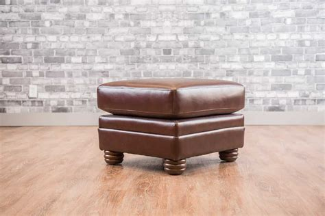 Small Ottoman by The Small Leather Ottoman Collection Canada S