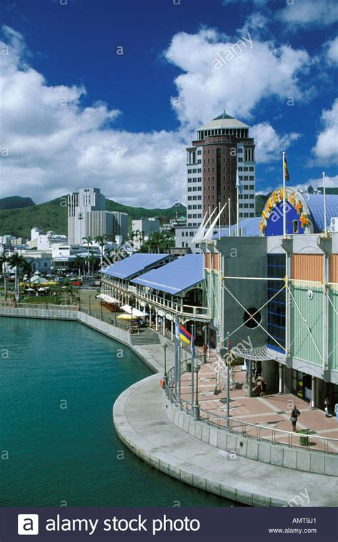 mauritius port louis le caudan waterfront stock photo royalty free image 8761056 alamy