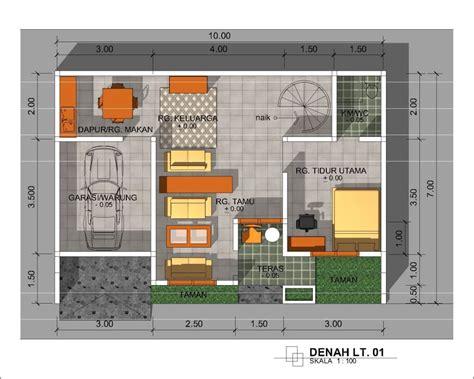 model rumah minimalis ukuran  desain rumah modern