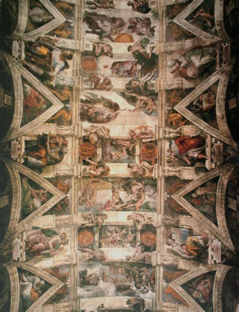 plafond chapelle sixtine photos le plafond de la chapelle sixtine segpa57merlebach