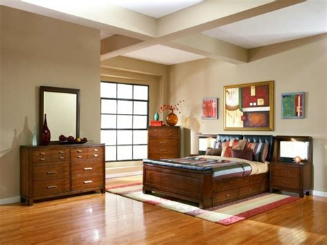une chambre  coucher moderne  coloree