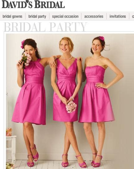david bridal bridesmaid dress i get to look like a friendless loser on my wedding day unhappybride
