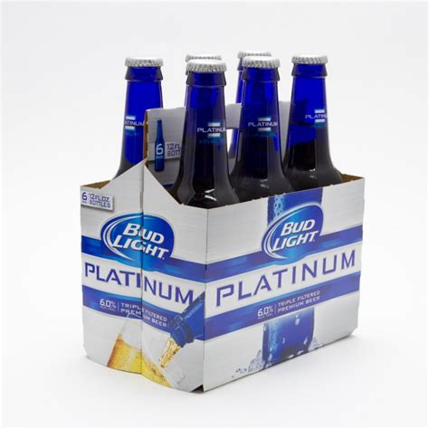 Bud Light 6 Pack by Bud Light Platinum 12oz Bottle 6 Pack Wine