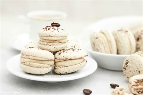 A classic french dessert made with aquafaba instead of. Vegan coffee macarons recipe | The Little Blog Of Vegan