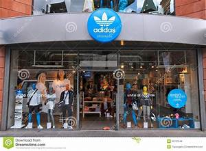 Adidas store editorial stock image. Image of european - 42727549