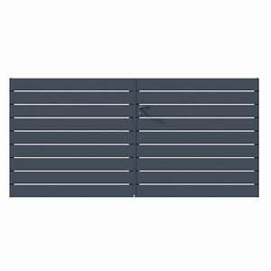 Cloture Aluminium Castorama : cl ture grillage brise vue portail et portillon castorama ~ Melissatoandfro.com Idées de Décoration