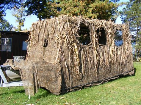 How To Build A Duck Blind On A Pontoon by The Quot How To Build A Pontoon Boat Duck Blind Quot Thread Page