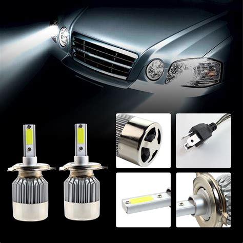 h4 birne led h1 h4 h7 auto scheinwerfer lichter 72w led birne set le leuchtmittel 6500k eur 11 99