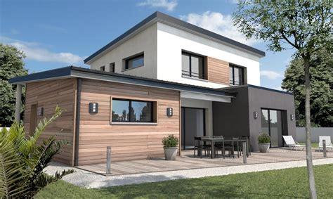plan de maison plain pied 4 chambres maison moderne sur mesure 44 56 85 depreux construction