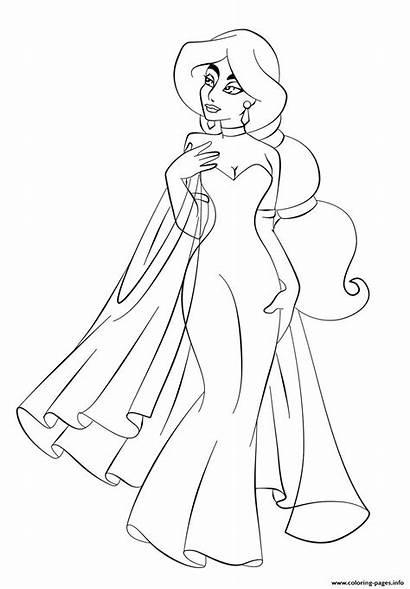 Coloring Disney Princess Jasmine Guardado Desde
